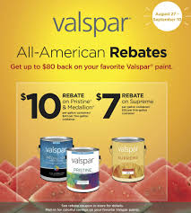 great rebates on valspar paint or cabot stain at hardware hank