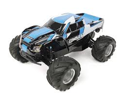 rc monster truck racing conquest 10mt xlr brushless 1 10 rtr 2wd monster truck by helion