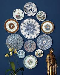 Wall Decor Marvelous Ideas of Decorative Plates For Hanging
