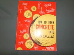 how to turn concrete into gold ornamental concrete