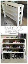 diy easy shoe rack diy shoe rack and shoe rack