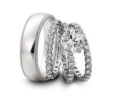 wedding band sets for him and wedding ideas his and hershing wedding ring sets setshis band