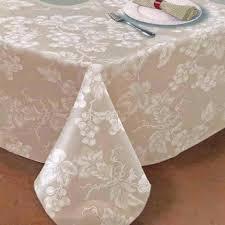 Oval Vinyl Tablecloth Grapevine Vinyl Tablecloth Lintex Linens Curtainshop Com