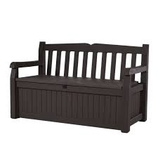 Wicker Storage Bench Bench Resin Outdoor Bench Shop Patio Benches At Resin Wicker