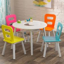 Mickey Mouse Kids Table And Chairs 3 To 4 Year Old Kids U0027 Table U0026 Chair Sets You U0027ll Love Wayfair