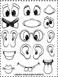 create your own face coloring page wecoloringpage