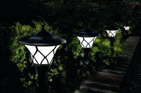 Solar Patio Light Solar Landscape Lanterns Outdoor Lighting A Patio Garden Exterior