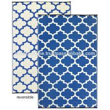 Blue And White Outdoor Rug Flooring Using Adorable Polypropylene Rugs For Modern Floor
