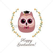 graduation owl free graduation owl vector image 1271659 stockunlimited