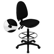 Drafting Table Stools by Work Smart Black Vinyl Drafting Chair St205 The Home Depot