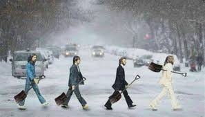 Shoveling Snow Meme - too much snow beatles to the rescue the beatles ii pinterest