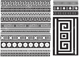 key and others different types of seamless patterns