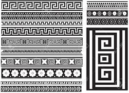 Greek Key Motif Greek Key And Others Different Types Of Seamless Greek Patterns