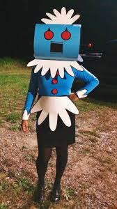 jetsons halloween costumes for halloween i constructed my own rosie costume album on imgur