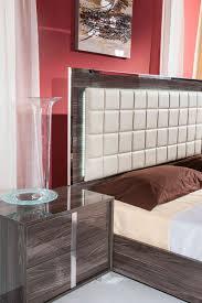 san marino bedroom collection modrest san marino modern grey bedroom set