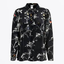 by simonsen kanda bird print shirt navy women s shirts by simonsen