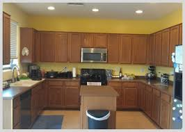 Yellow Kitchen Cabinet How To Refinish Kitchen Cabinets Makeover Tutorial A S Take