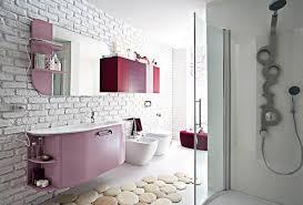 wallpaper bathroom designs contemporary bathroom wallpaper home design ideas design pics