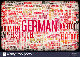 german cuisine menu german food and cuisine menu background with local dishes stock