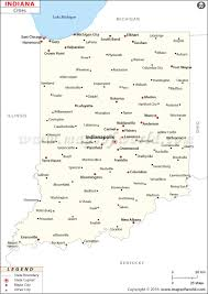 Maps Of Indiana Buy Map Of Indiana Cities