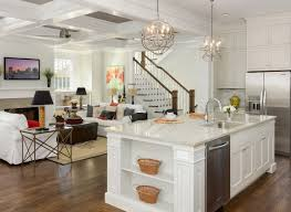 dining room glamorous engrossing open kitchen dining living room