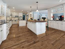 tile that looks like hardwood kitchen traditional with floor