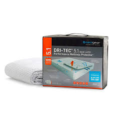 bedgear dri tec wicking waterproof mattress protector king