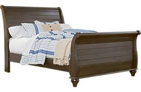 White Leather Sleigh Bed Queen Bed Frame Styles Platform Sleigh U0026 Canopy Queen Beds