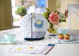 little tea table set spring tea time set minki s work table