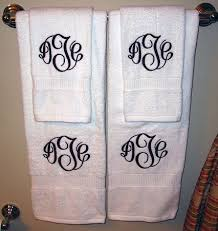 Bathroom Towels Ideas 25 Best Monogram Towels Ideas On Pinterest Monogrammed Hand