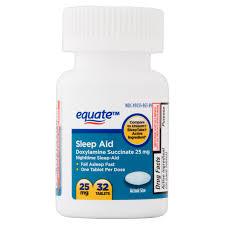 equate sleep aid tablets 32 ct walmart com