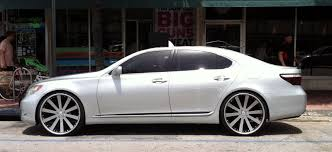 lexus custom silver lexus ls 460 with custom rims exotic cars on the streets