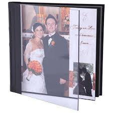 8 x 10 photo album ivory acrylic repositionable self adhesive wedding bound album