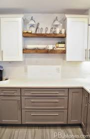 Open Kitchen Shelving Ideas by Pbjstories Our Diy Open Kitchen Shelves Pbjreno