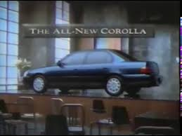 toyota corolla commercial toyota corolla commercial 1993