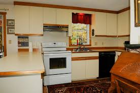 attractive how to reface laminate kitchen cabinets part 11