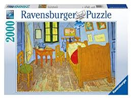 bedroom in arles amazon com ravensburger van gogh s bedroom in arles 1889 puzzle