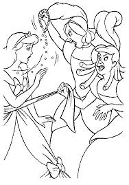 disney coloring pages cinderella coloring awing 15755