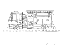 free printable fire truck coloring pages u2013 fire truck