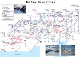 Italy Train Map 2thealps Map And Travel Specialists For The Alps