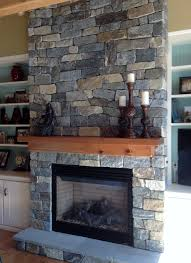 natural veneer stone fireplace u0026 chimney delgado stone