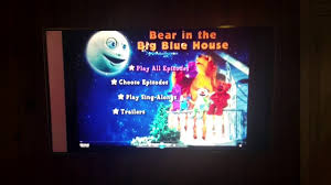 opening to bear in the big blue house sleepy time with bear and