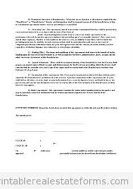 printable conservation easement 2 template 2015 sample forms