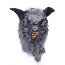wolf mask wolf mask animal scary creepy mask