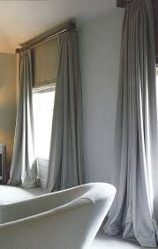 Ikea Curtains Vivan by Modern Curtain Styles Puddled Drapes With Twine Valance By Alex