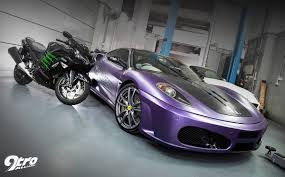 purple ferrari ferrari f430 agent purple 9tro