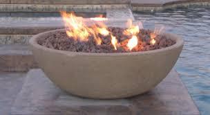 Firepit Bowl by Wok Series Concrete Fire Bowl Outdoor Fire Designs