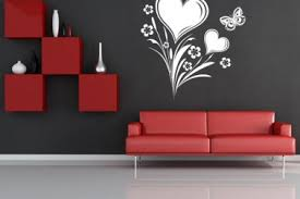 19 wall painting ideas red black dark clouds wall mural so that u0027s