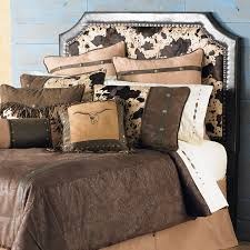Western Bedroom Decor And Furniture Lone Star Western Decor - Cowhide bedroom furniture