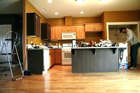 kitchen paint colors with oak wood cabinets u2014 the clayton design